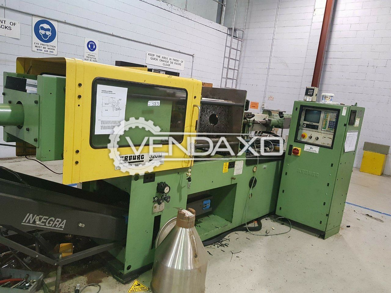 Used Arburg 320M Injection Moulding Machine - 75 Ton for
