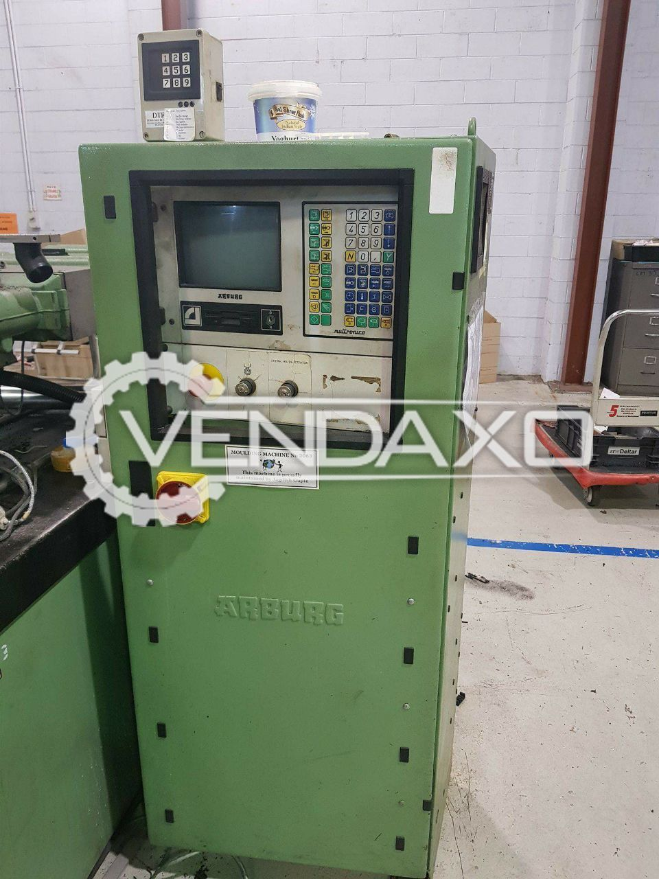 Used Arburg 320M Injection Moulding Machine - 75 Ton for Sale at