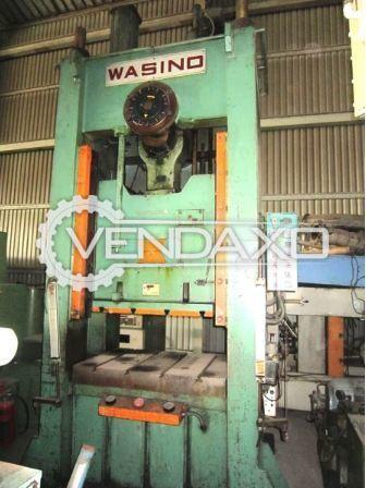 Wasino CX1S-150 'C' Type Single Crank Press - 150 Ton
