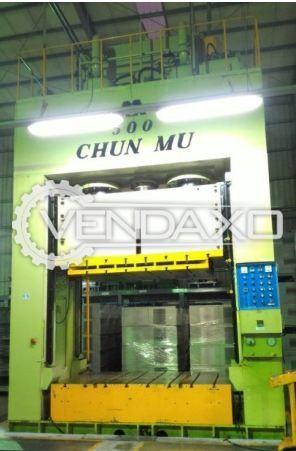 Chun Mu Hydraulic Press - 500 Ton