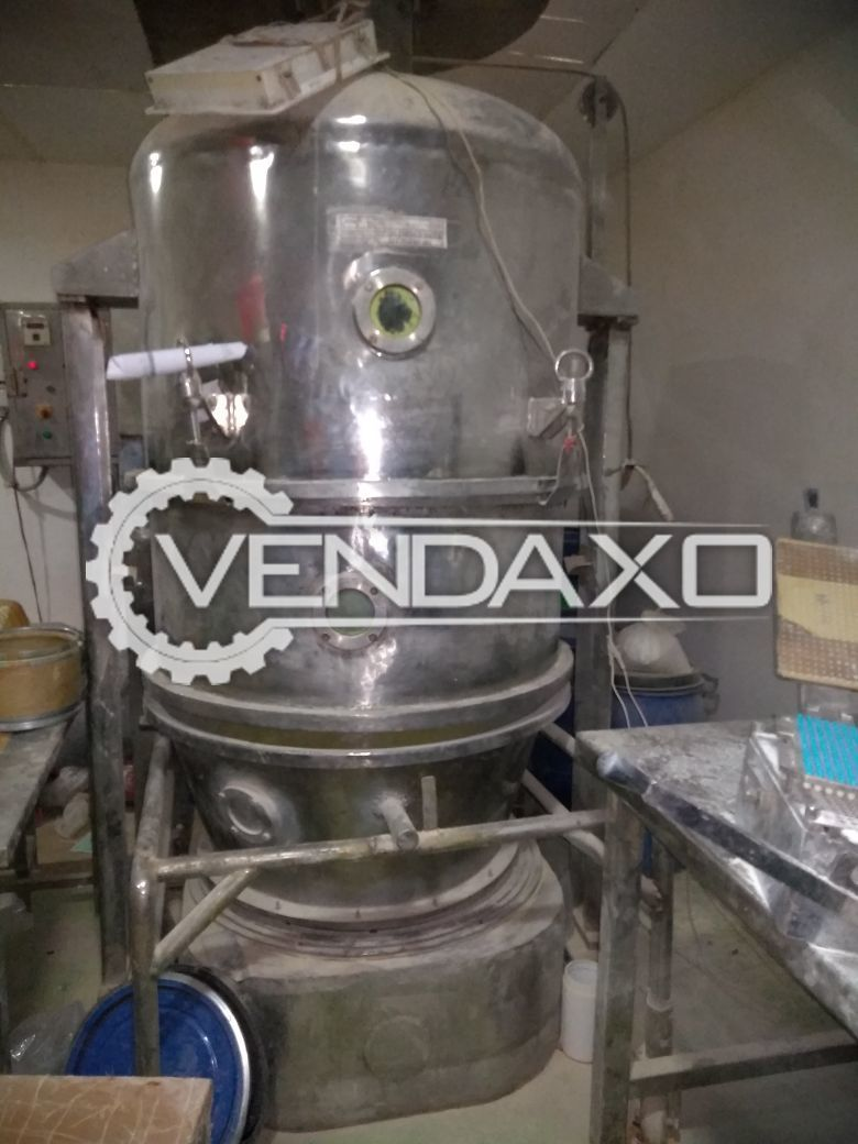 Pharma Fab Fluid Bed Dryer (FBD) - 60 KG