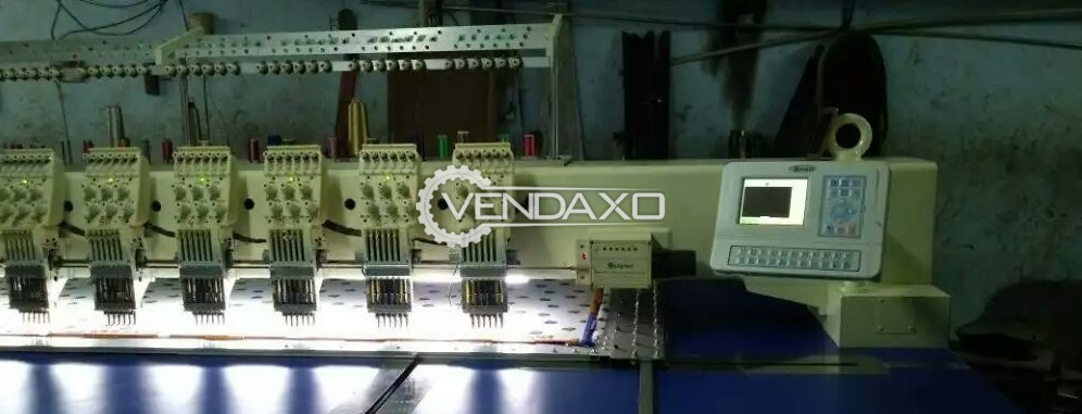 27*250 Computerized Embroidery Machine