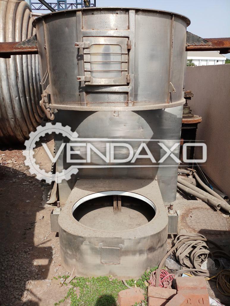 SS Fluid Bed Dryer (FBD) - 120 Kg