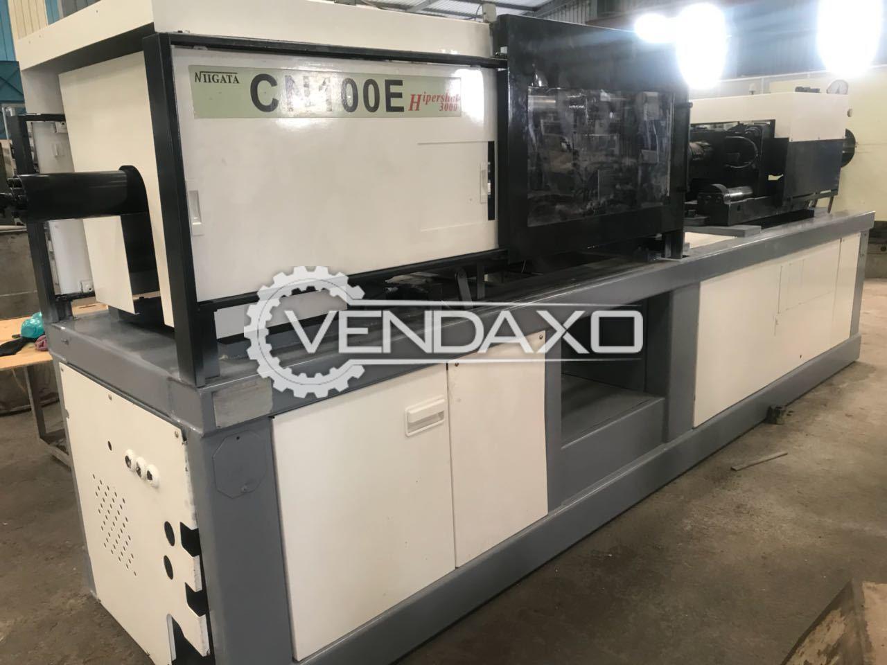 Niigata CN100E Injection Molding Machine - 100 Ton