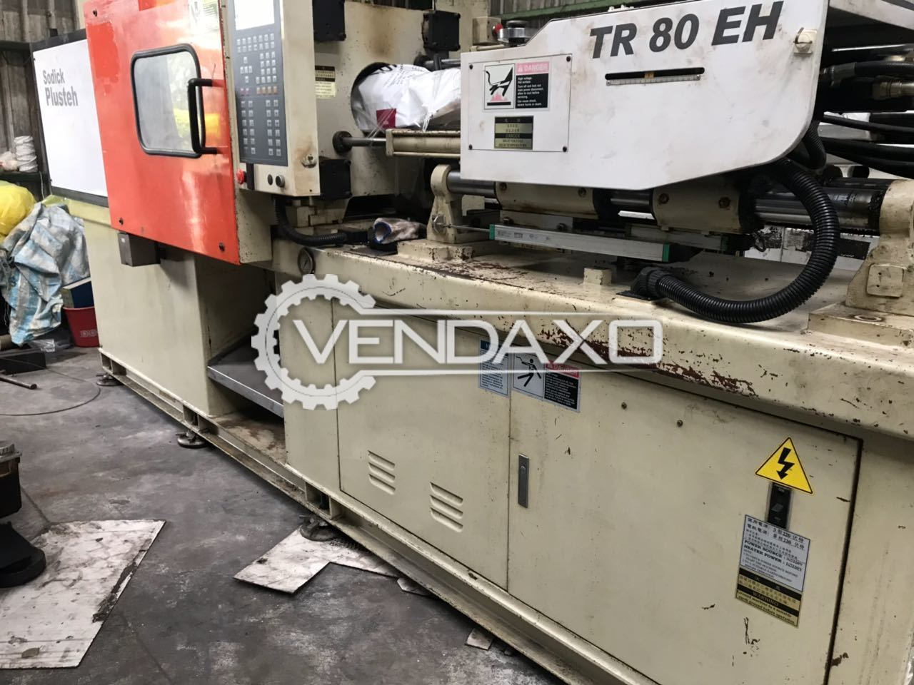 Sodick Plusteh TR 80 EH Injection Moulding Machine - 80 Ton