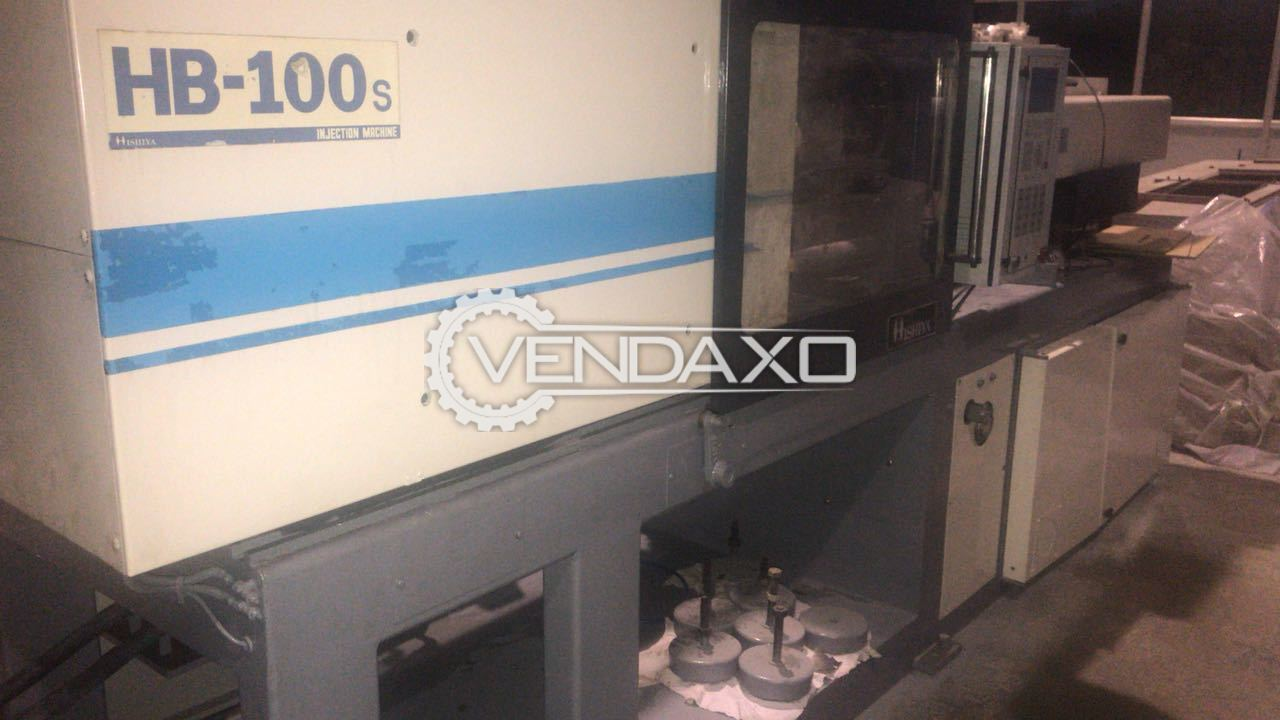 Injection Moulding Machine - 100 Ton