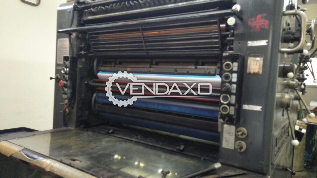 Heidelberg Sorsz 524 Offset Printing Machine - 2 Color
