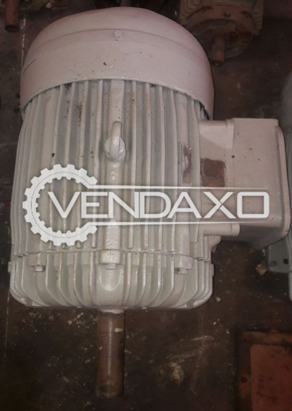 HP Motor - 90 KW 15 rpm