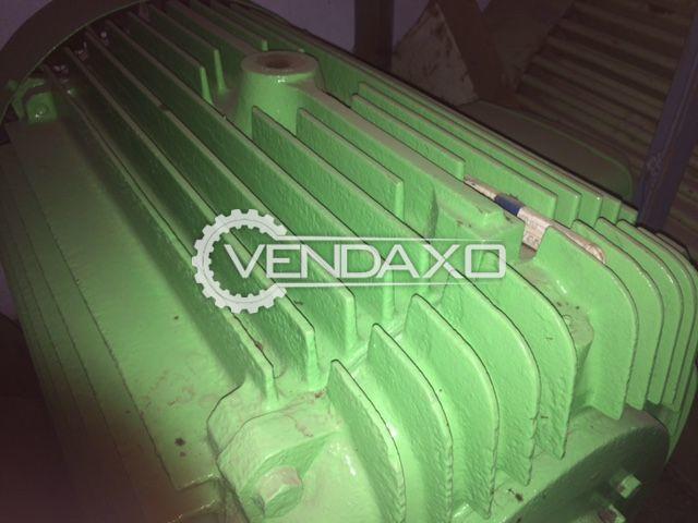 HP Motor - 90 KW, 120 HP 15 rpm