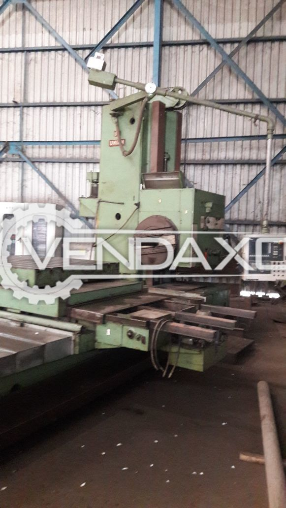 WMW Table Boring Machine with Retrofitted CNC