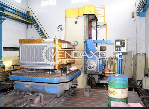 Skoda WD-160 Floor Boring Machine with Siemens control