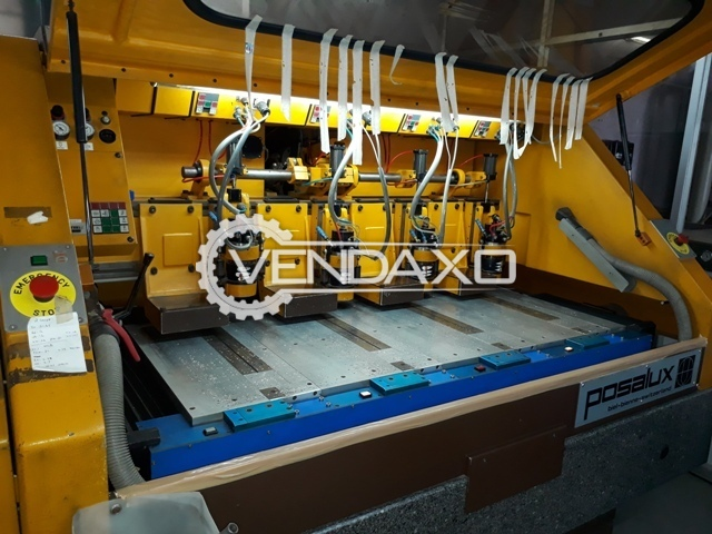 Posalux MULTIFOR-14 PCB DRILLING Machine - 4 Spindles