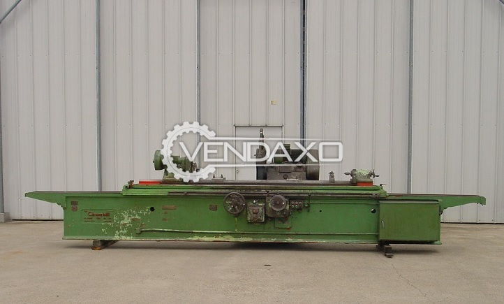 """Churchill C 14 X 108"""" External Cylinder Grinding Machine"""