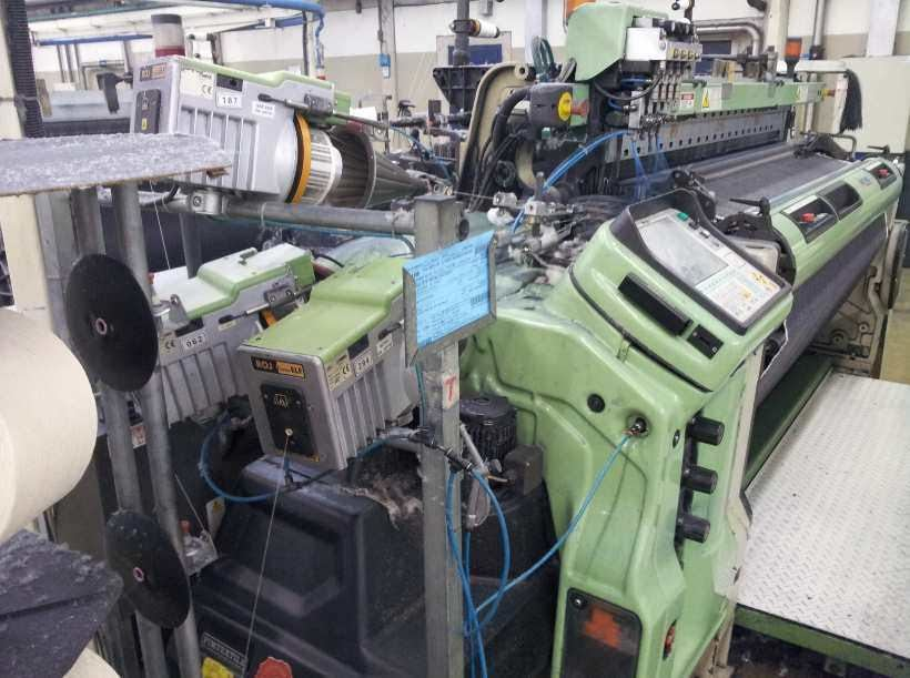 SOMET Air jet weaving looms