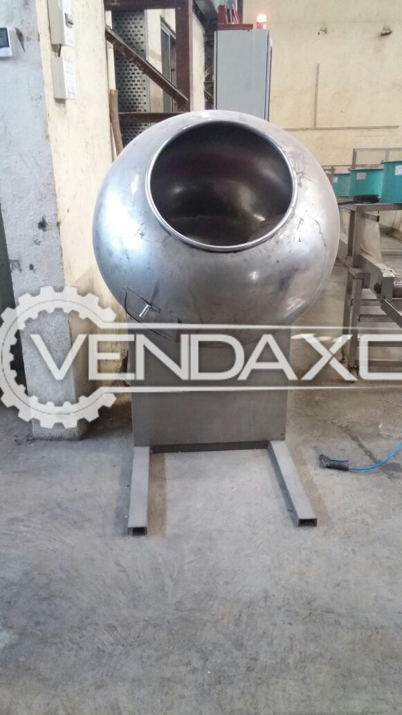 Coating Pan - 20-40 Kg/Batch