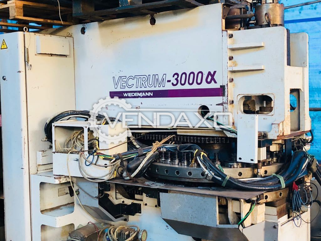 Wiedemann Vectrum 3000 Alpha Turret Punch Press