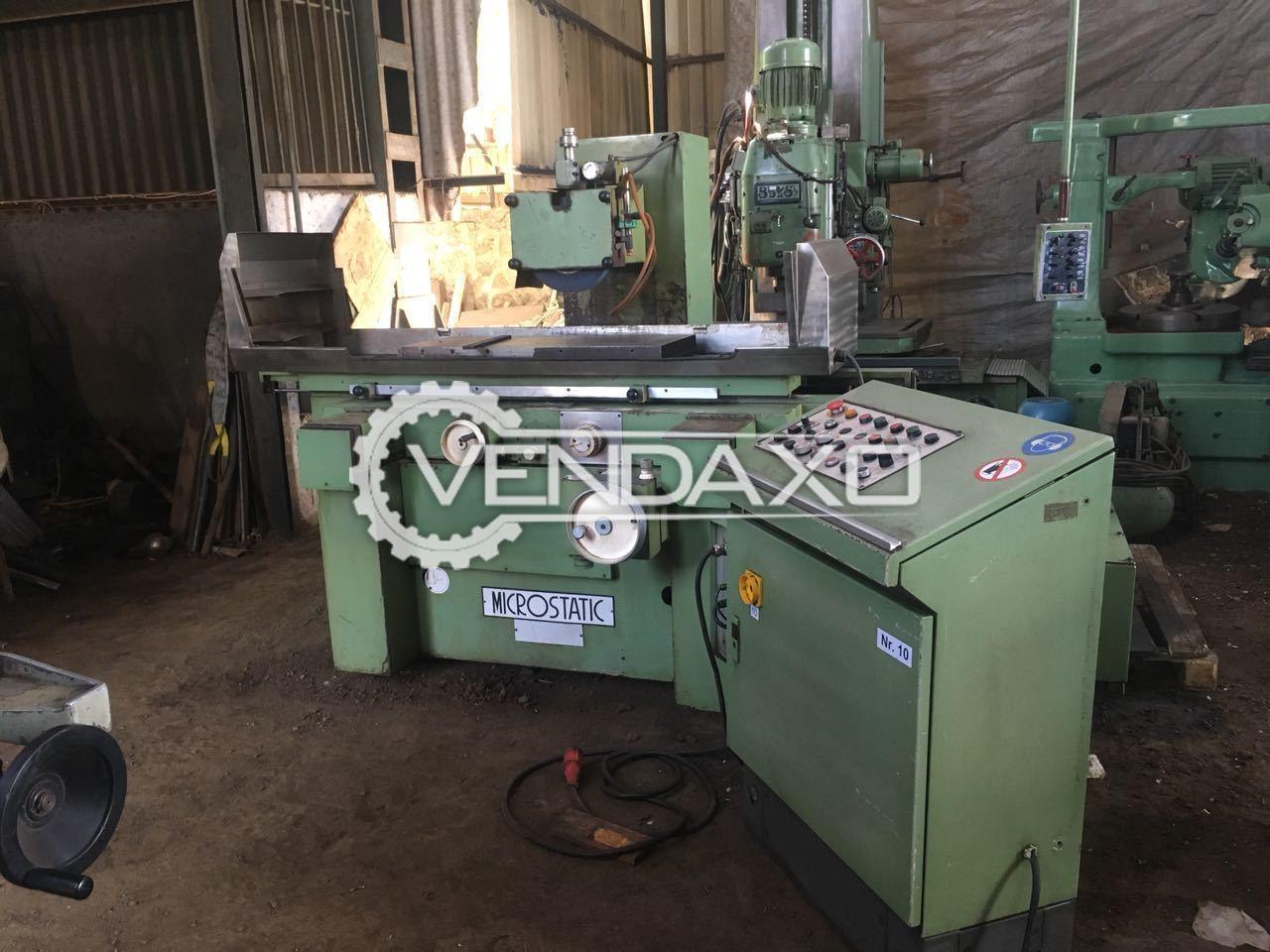 Microstatic Surface Grinding Machine 1000 mm X 400 mm