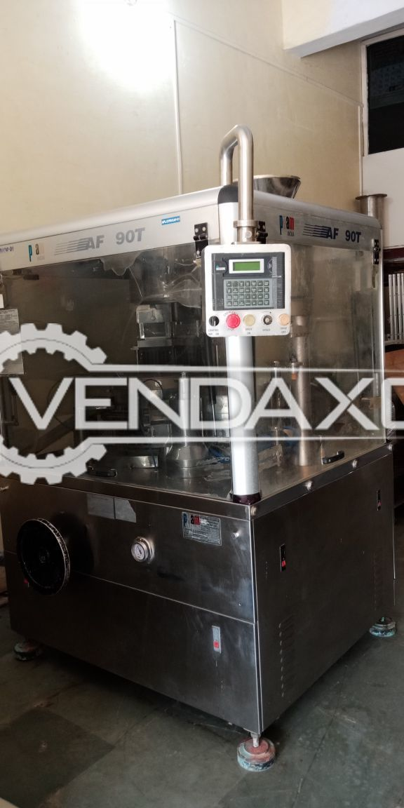 PAM's Automatic Capsule Filling Machine AF-90T for Tamping, Dosating or Volumetric Filling