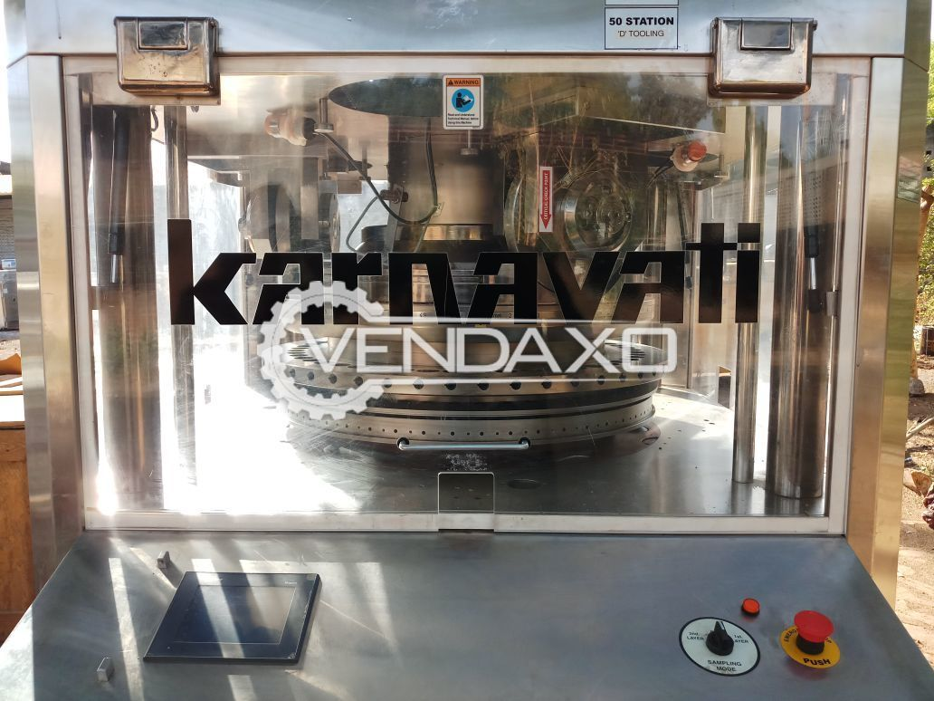 Karnavati UNIK III ML - 50 Station D Tooling machine with 3 Layer System