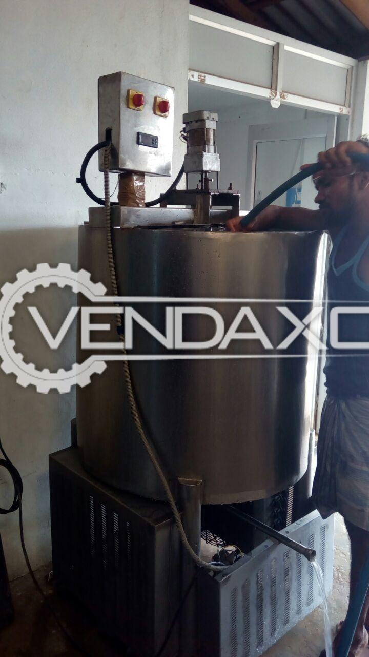 Bulk Milk Cooler  (BMC) 500 litres and Plant boiler