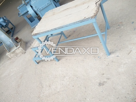 Buy used Big Agglo Machine Tray with MS and SS sheet inside along with Stand - 2 pieces for sale