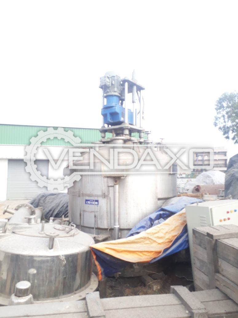 Used HLE 3 Kl Agitated Filter Dryer (ANFD)