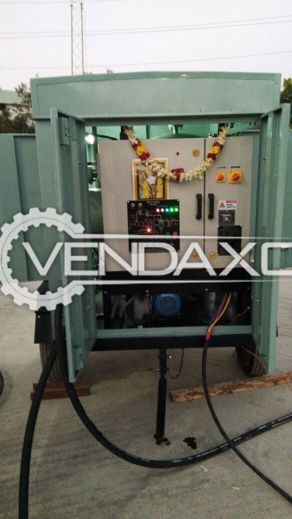 Used Hamsa High Vacuum Transformer Oil Filtration Machine