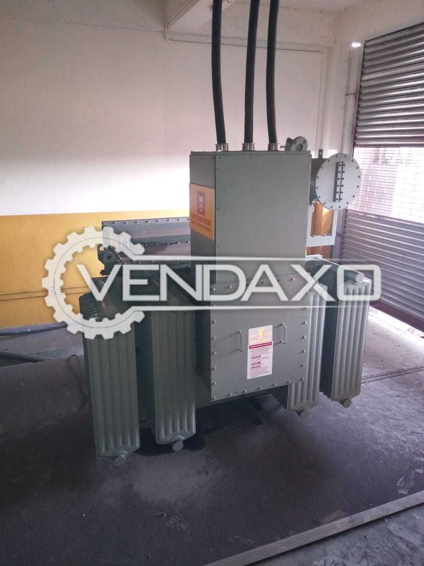 Inductotherm 750 kg Melting Furnace