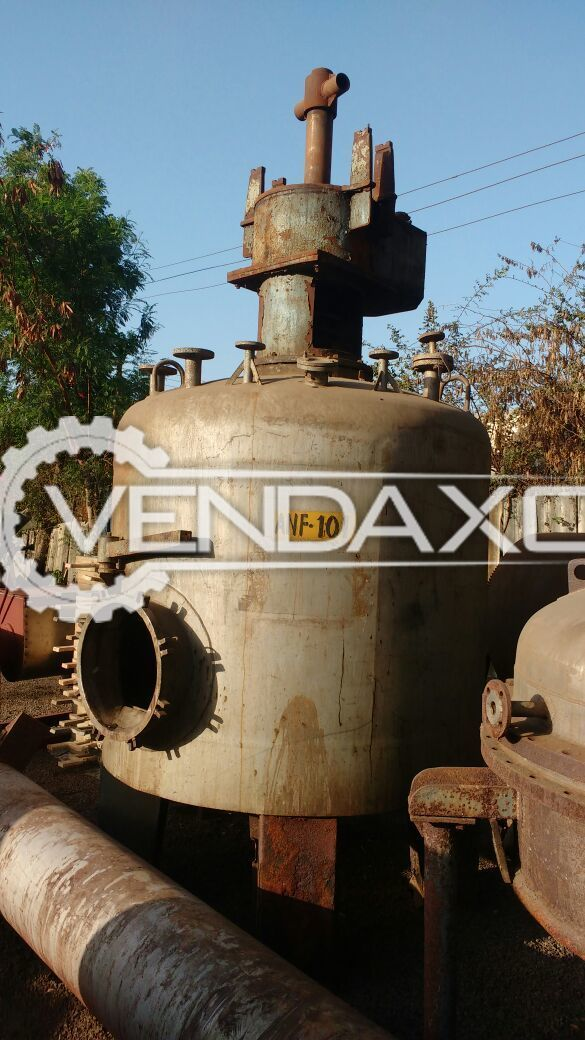 Agitated Nutsche Filter Dryer (ANFD) - 2 KL