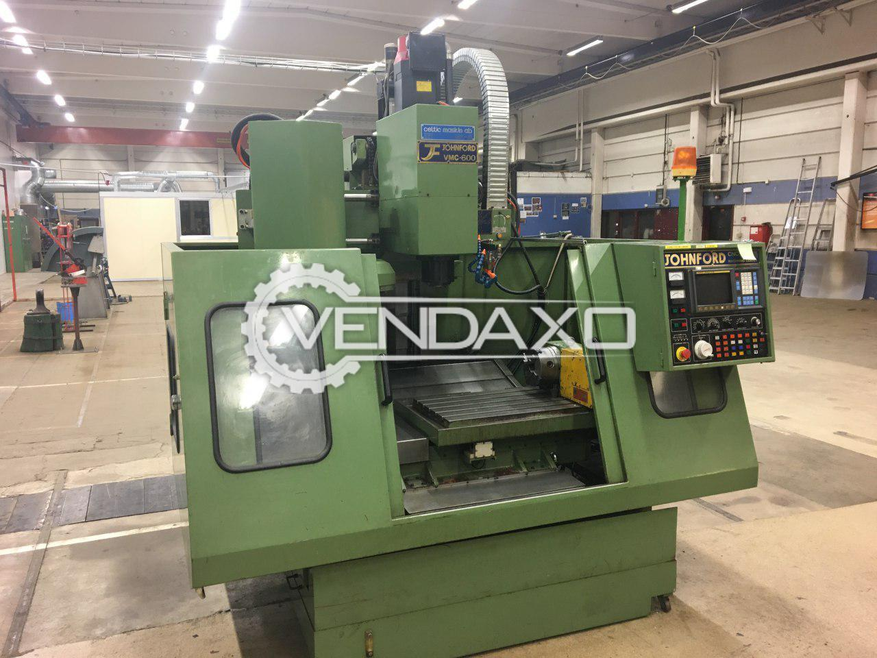 Johnford VMC-600 CNC Vertical Machining Center