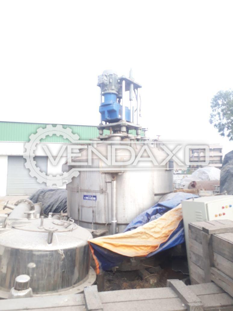 HLE Agitated Nutsche Filter Dryer (ANFD) -3 KL
