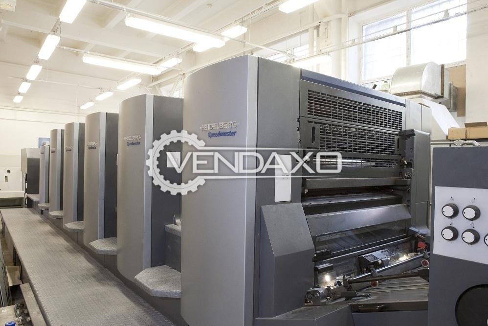 Heidelberg CD-102-5-L Offset Printing Machine - 5 Color