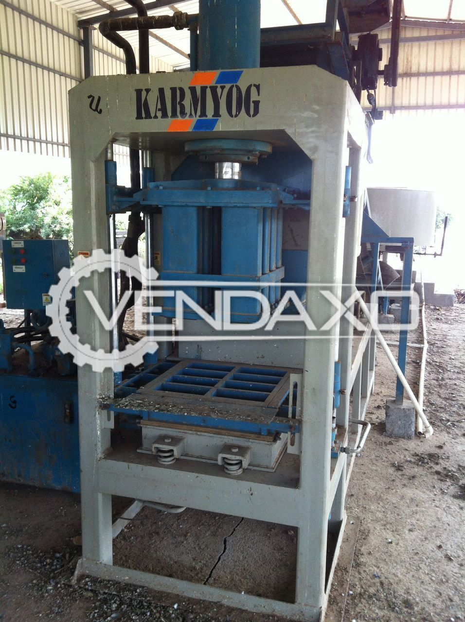 Semi Automatic Flyash Bricks Manufacturing Plant