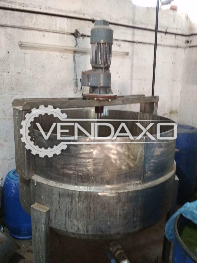 Mixing Vessel - 400 Liter