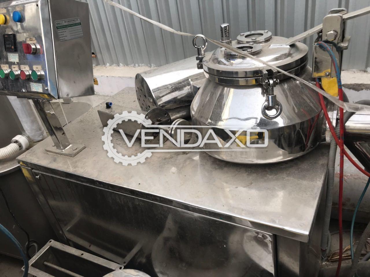 Lab Rapid Mixer Granulator