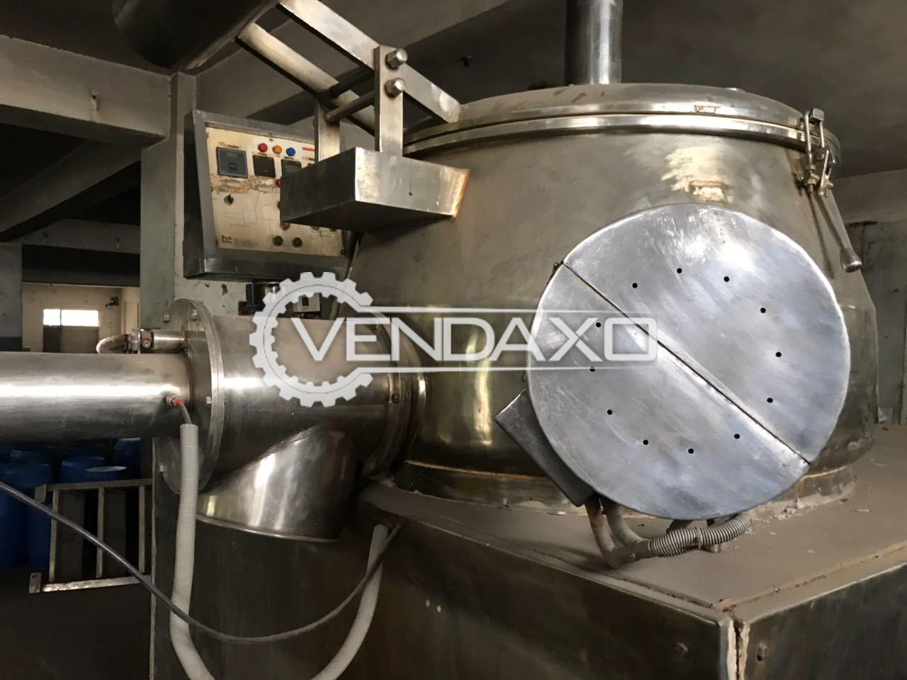 Rapid Mixer Granulator - 600 Liter