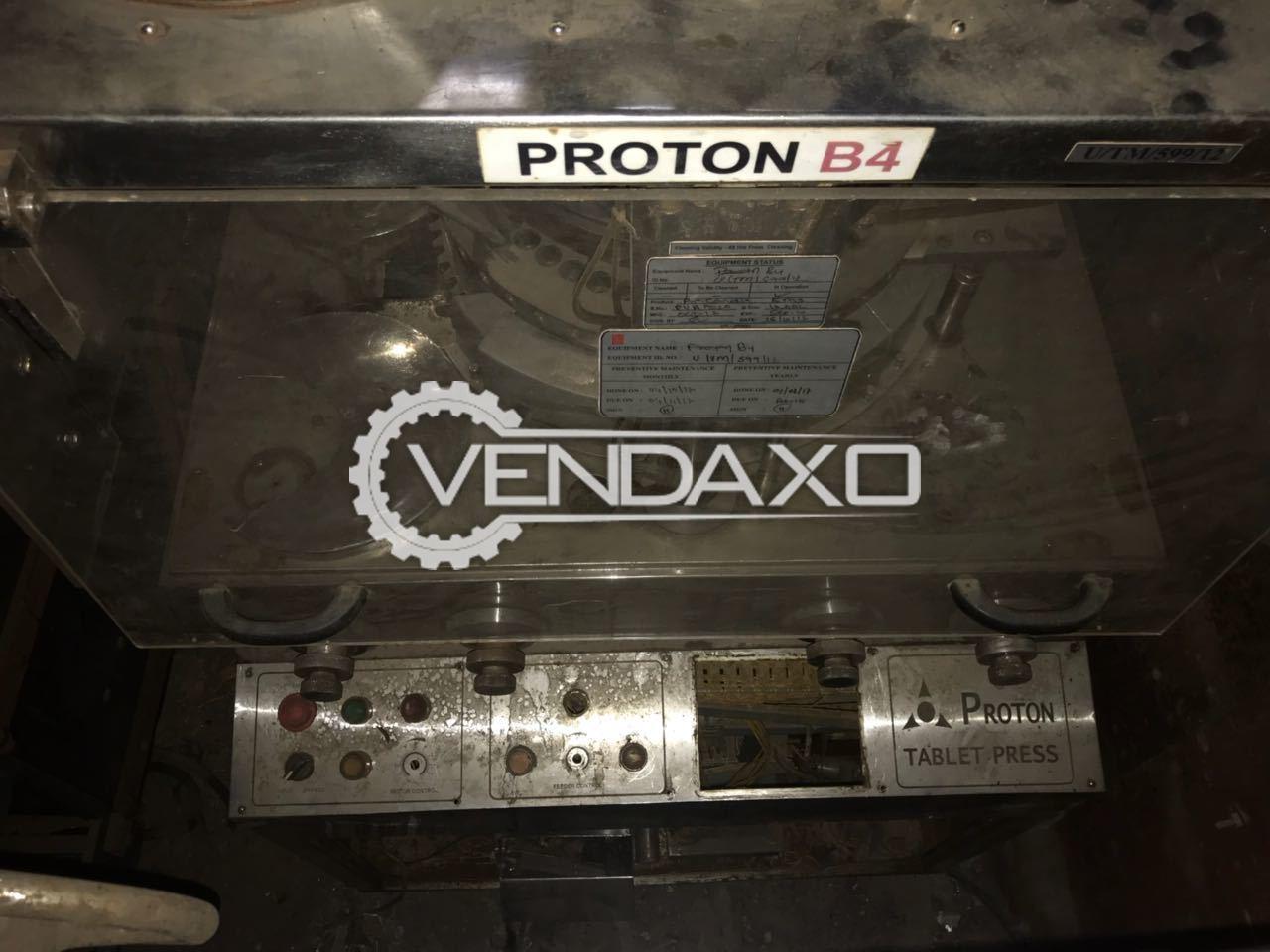 Proton B4 Tablet Press Machine