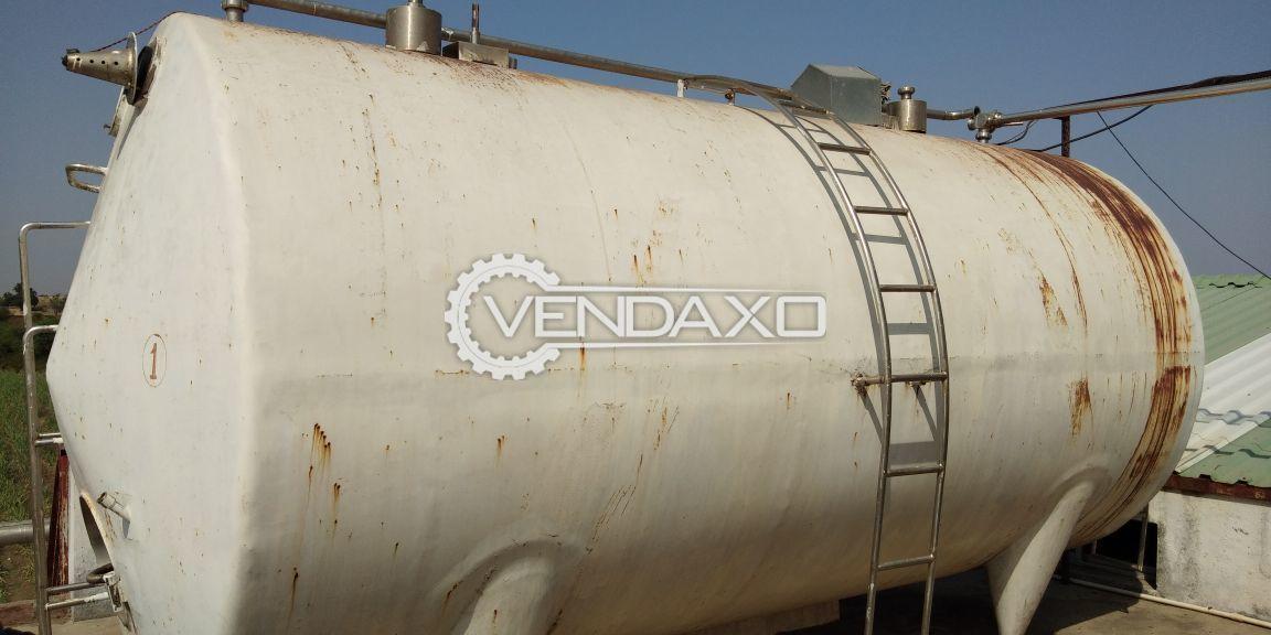 Milk Storage Tank - 10,000 Liter