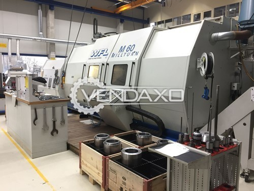 WFL Millturn M60 CNC Turning & Milling Center