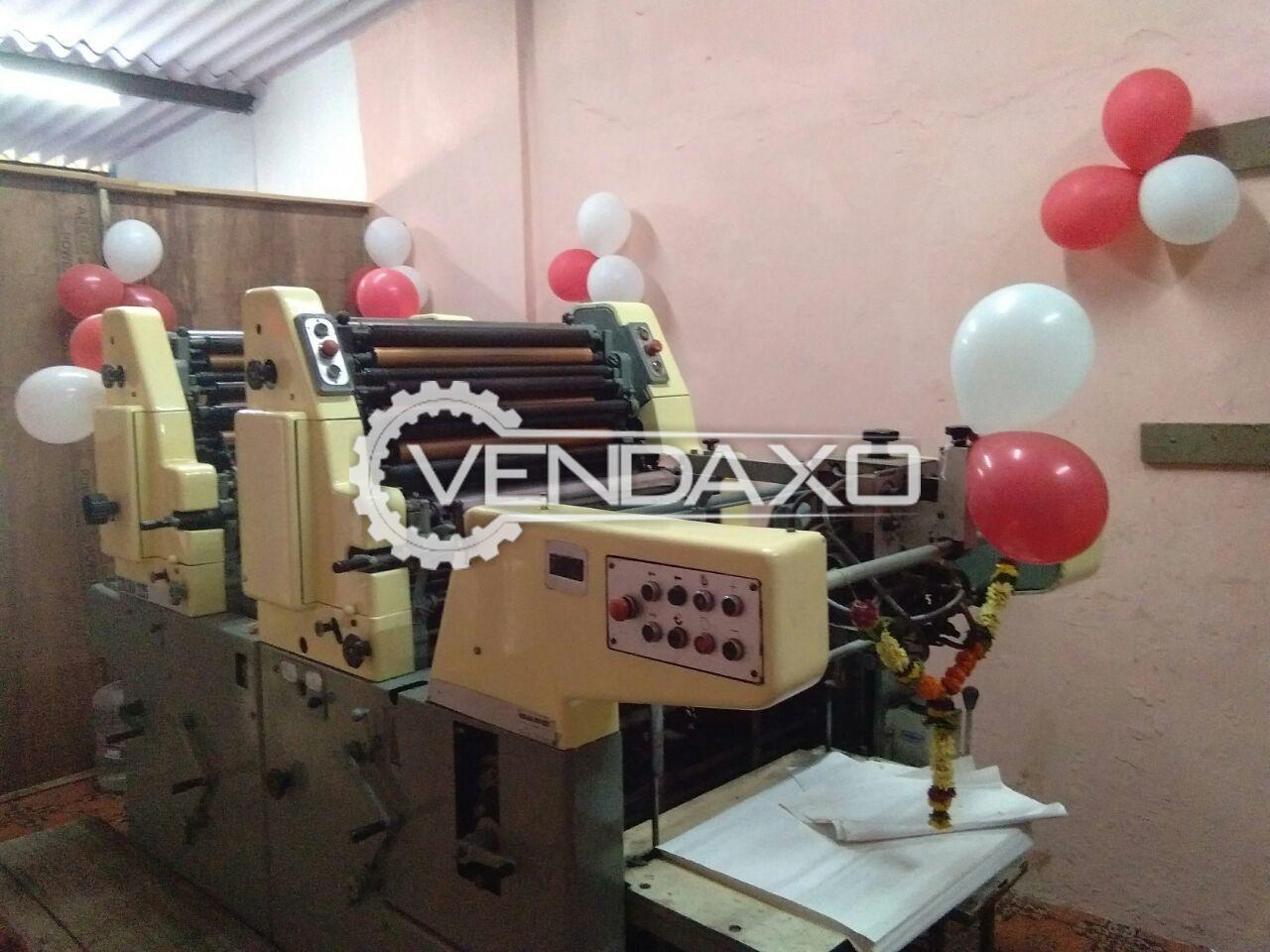 Solna 225 Offset Printing Machine - 2 Colour