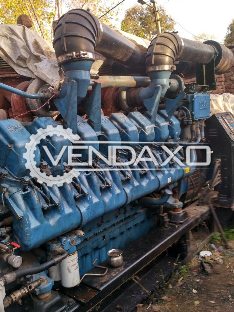 Used MTU Diesel Generator - 2000 KVA for Sale at Best Prices