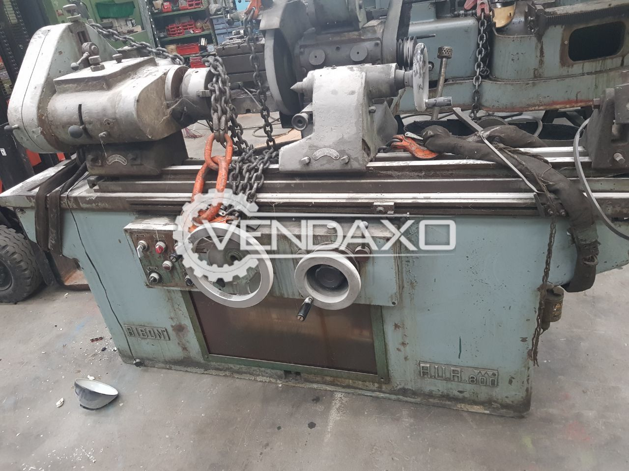Ribon RUR 800 External Grinder Machine