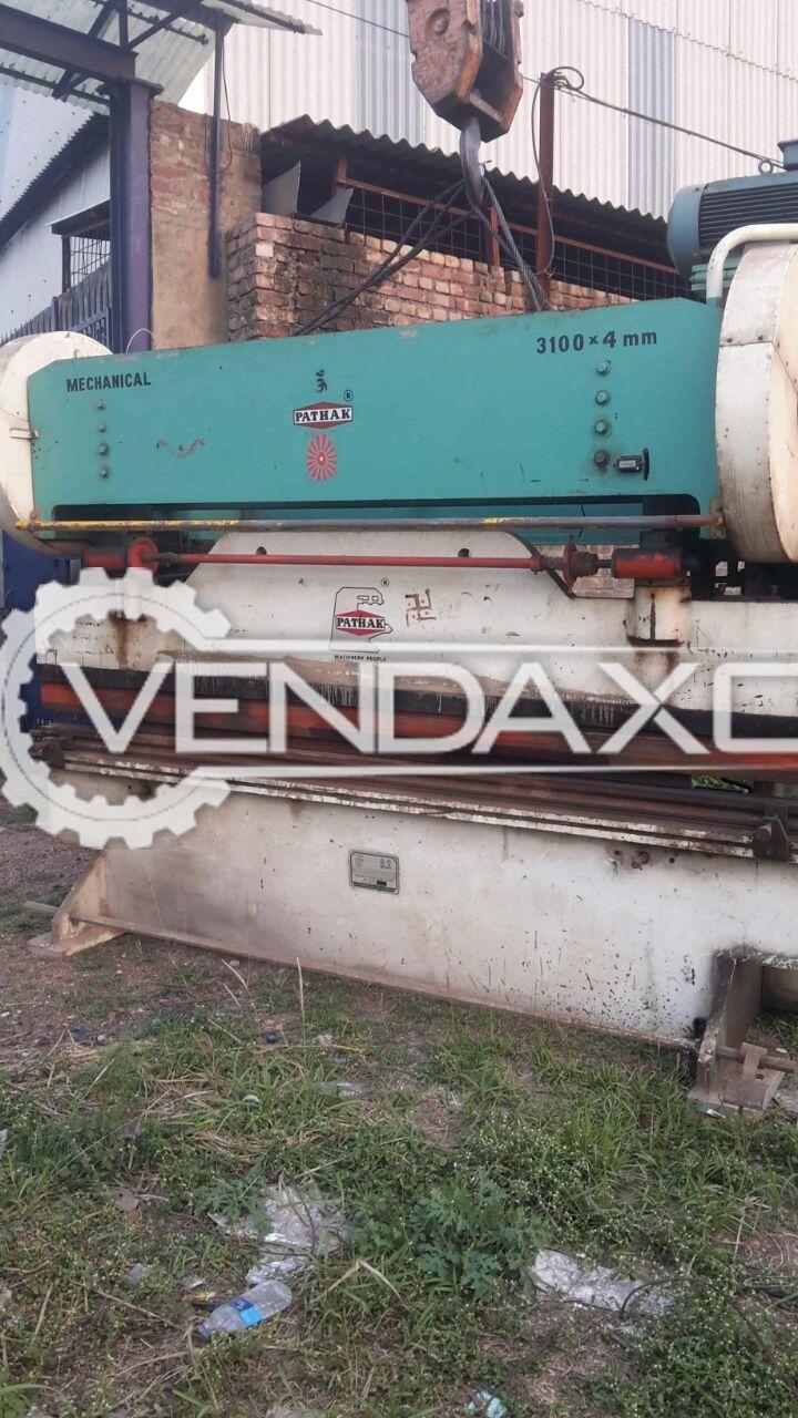 Pathak Mechanical Press Brake - 4 MM
