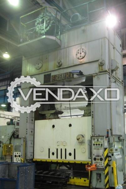 ERFURT PKZZ I 800 Crank Press - 800 Ton