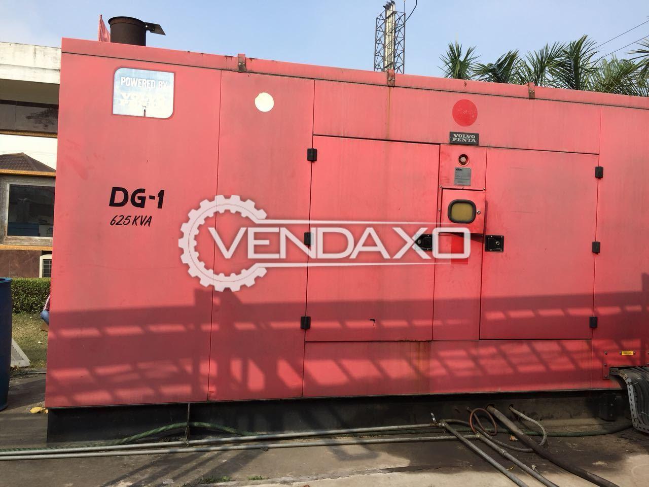 Volvo Penta CSH-V-625/TP Diesel Generator - 625 Kva