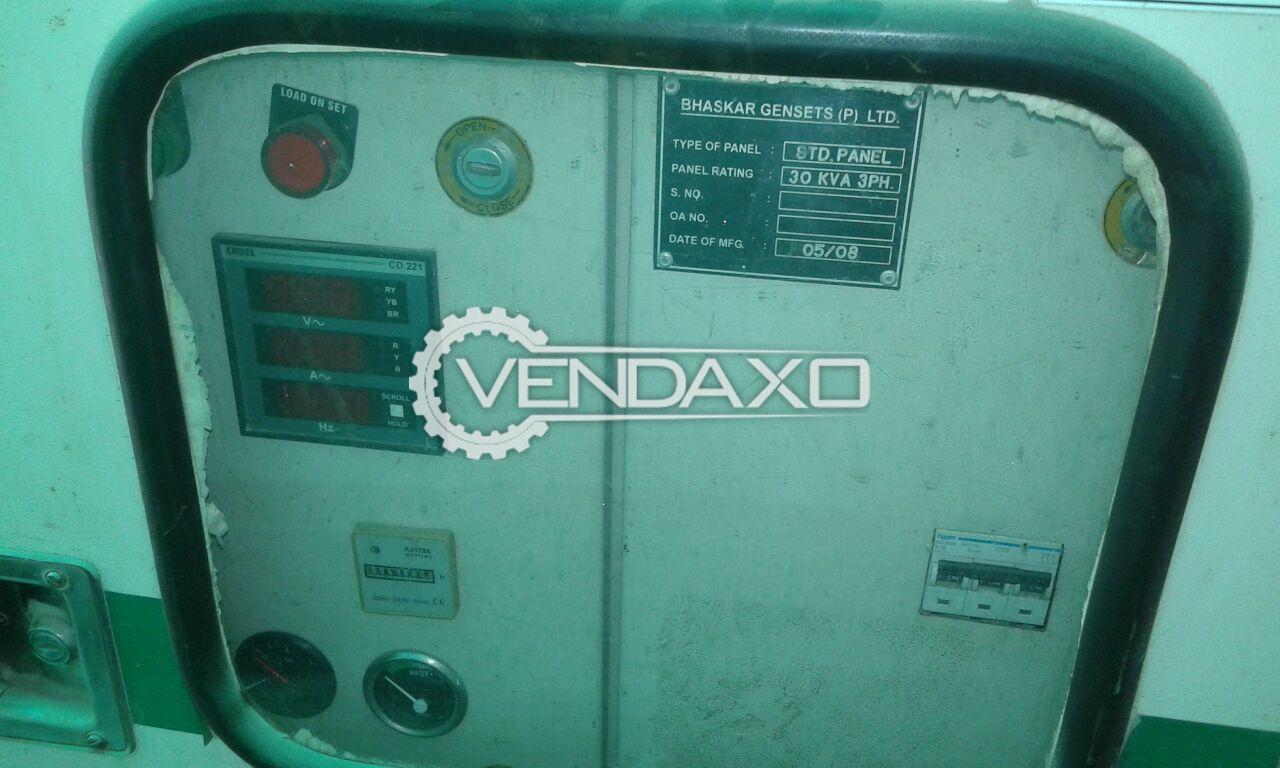 Used Kirloskar Diesel Generator - 30 Kva for Sale at Best