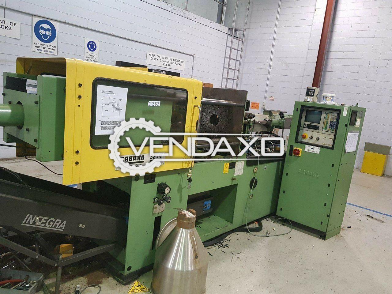 Arburg 320m injection moulding machine   75 ton
