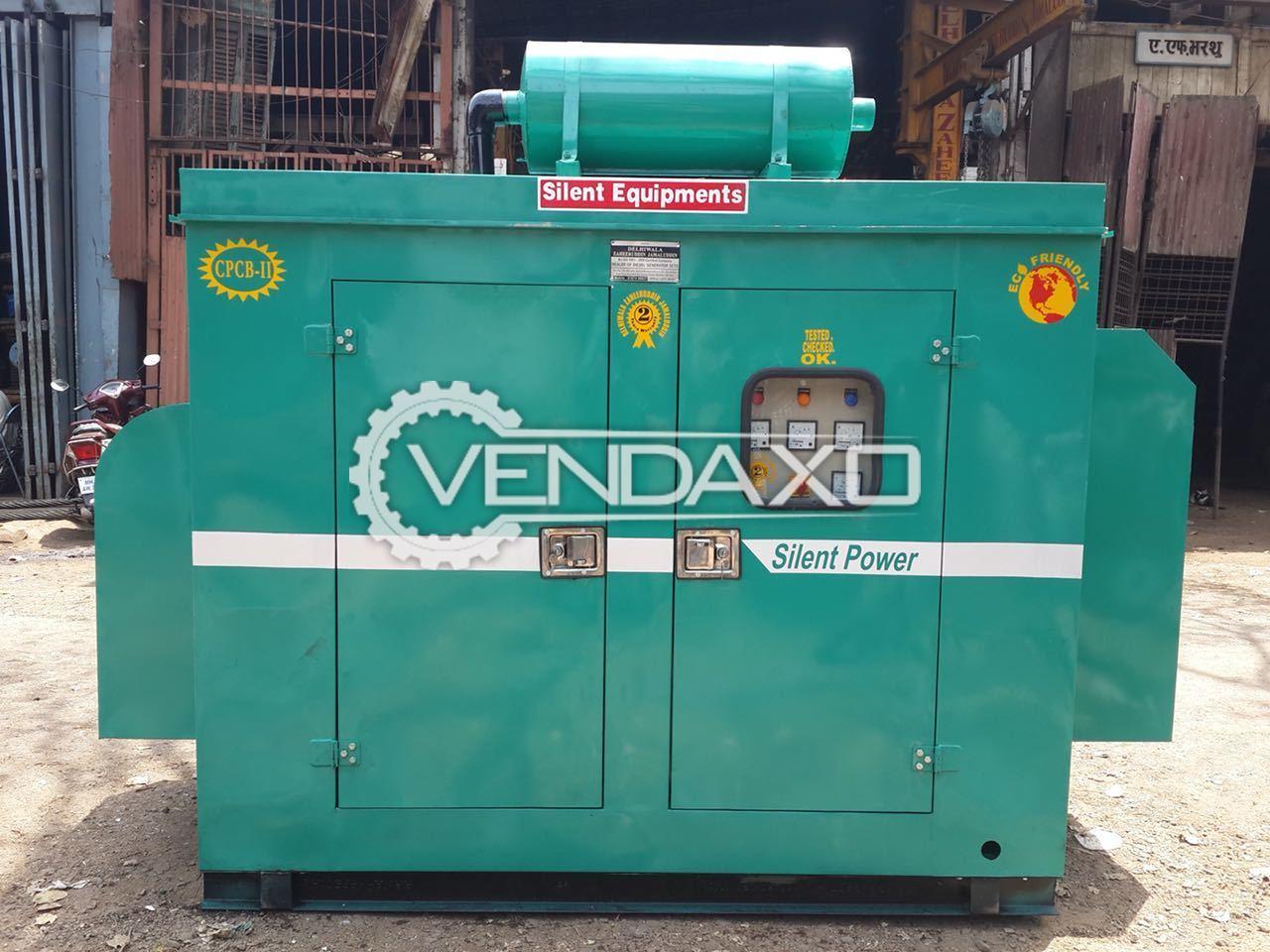 Silent Diesel Generator - 62.5 Kva