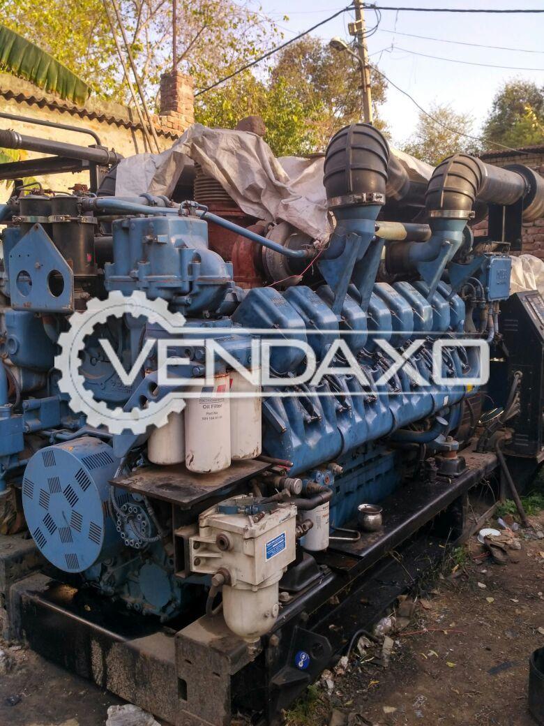 MTU Diesel Generator - 2000 Kva