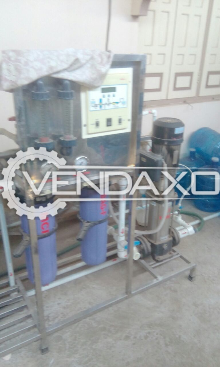 1000 litre Manual Bottling Plant with Tanks and Chiller